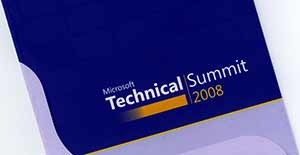 Microsoft Tech Summit 2008 Berlin